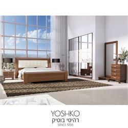 חדר שינה זוגי קומפלט בעיצוב מרשים דגם CLASSIC