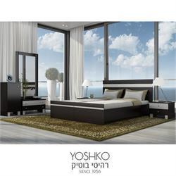 חדר שינה זוגי בהפרדה יהודית קומפלט בעיצוב מרשים דגם אדם