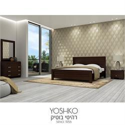 חדר שינה זוגי קומפלט בעיצוב מרשים דגם sahlav