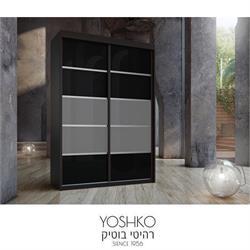 ארון הזזה 2 דלתות בעיצוב מודרני וצעיר דגם sorento