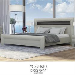 מיטה זוגית בעיצוב מרהיב במגוון צבעים דגם savi