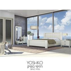 חדר שינה זוגי קומפלט כולל ארון הזזה תואם דגם הילה
