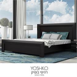 מיטה זוגית בעיצוב מרהיב במגוון צבעים דגם טוקיו