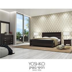 חדר שינה זוגי קומפלט בעיצוב מרשים דגם palma
