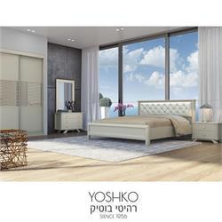 חדר שינה זוגי קומפלט בעיצוב מרשים דגם DORIN