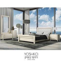 חדר שינה זוגי קומפלט בעיצוב מרשים דגם madrid
