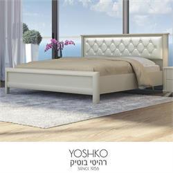 מיטה זוגית בעיצוב מרשים דגם DORIN