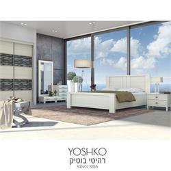 חדר שינה זוגי קומפלט בעיצוב מרשים דגם הילה