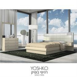 חדר שינה זוגי קומפלט בעיצוב ברוחב 2 מטר  דגם lucci