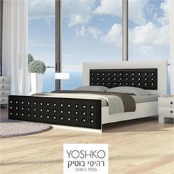 מיטה זוגית בעיצוב מרהיב במגוון צבעים דגם  komo