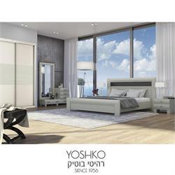 חדר שינה זוגי קומפלט כולל ארון הזזה  דגם שביט סביון