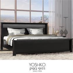 מיטה זוגית בעיצוב מרהיב במגוון צבעים דגם DIKLA