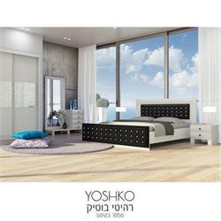 חדר שינה זוגי קומפלט בעיצוב מרשים דגם komo