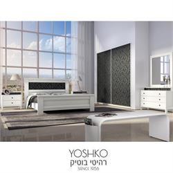 חדר שינה זוגי קומפלט בעיצוב מרשים דגם VERONA