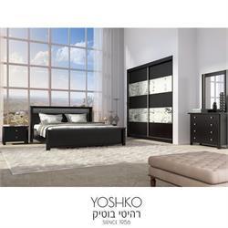 חדר שינה זוגי קומפלט בעיצוב מרשים דגם DIKLA