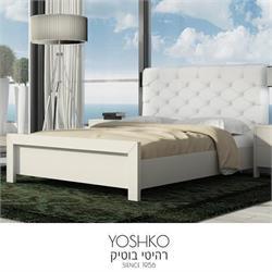 מיטה זוגית מפוארת דגם VALENTINO