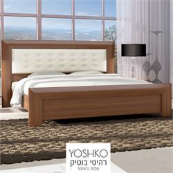 מיטה זוגית בעיצוב מרהיב במגוון צבעים דגם  CLASSIC