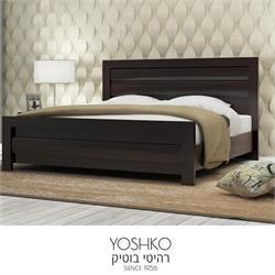 מיטה זוגית בעיצוב מרהיב במגוון צבעים דגם  מיורקה