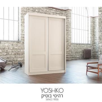ארון הזזה  2 דלתות מעוצב דגם שבי