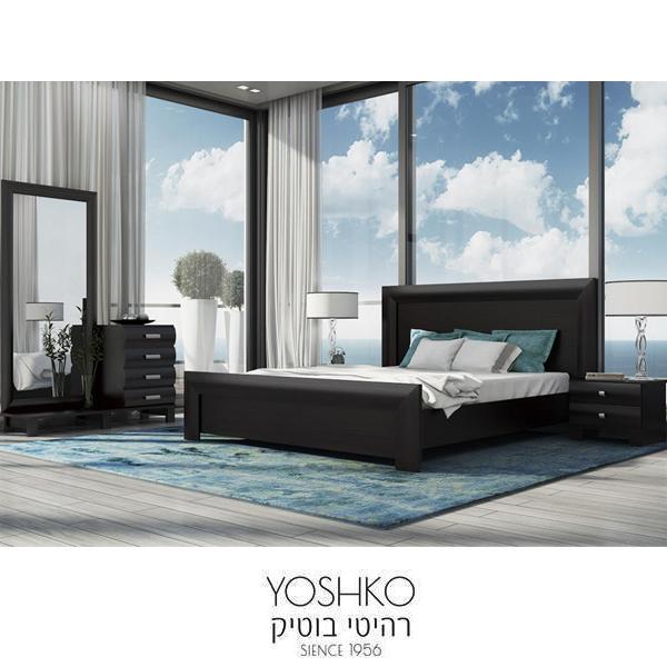חדר שינה זוגי קומפלט בעיצוב מרשים דגם יפן